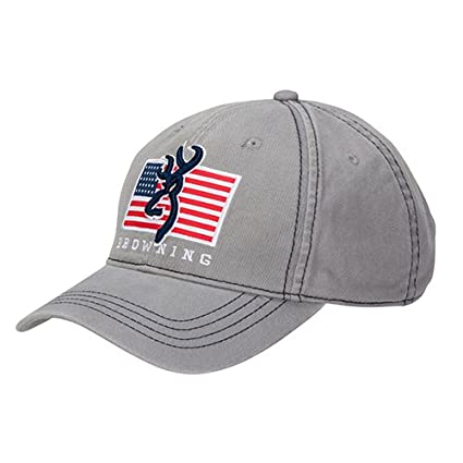 newest 14ab9 a6c08 Image Unavailable. Image not available for. Color  Browning 308013691 Pride  Cap, Gray