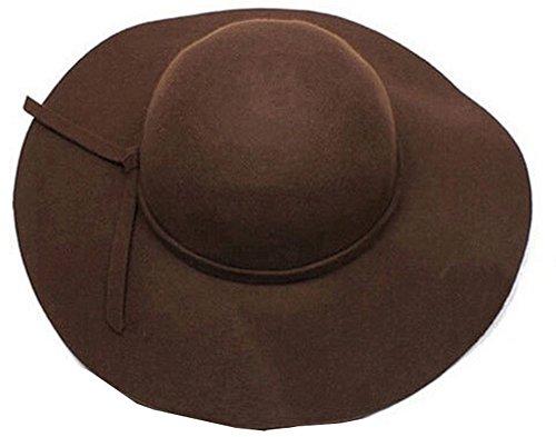 Qings (Brown Cloche Hat)
