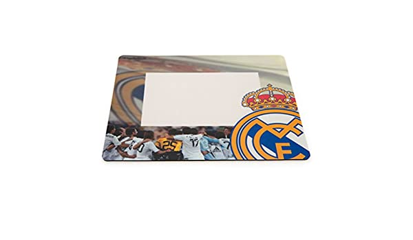 Real Madrid F.C. Photo Frame Mouse Mat: Amazon.es: Hogar