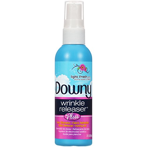 Downy Wrinkle Releaser Plus Light Fresh Scent, Travel Size, 3 Fluid Ounce (Pack of 2) by Downy (Image #4)