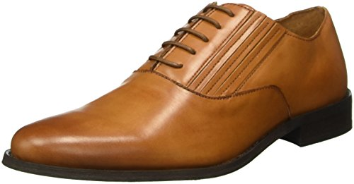 BIANCO Dress Panel Shoe 52-71358, Scarpe Stile Oxford Uomo Marrone (24/Light Brown)