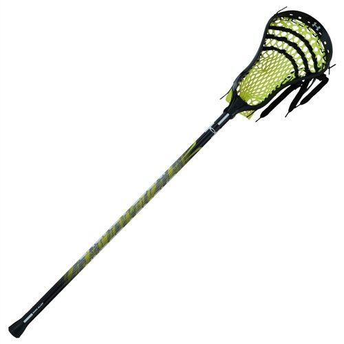 Under Armour NexGen Junior Complete Lacrosse Stick-Black/Neon Green