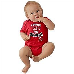 detailed look 0fbf7 a46d7 Amazon.com: Soft As A Grape New Jersey Devils NHL Newborn ...