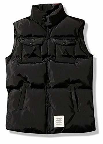 Stylish Vest Padded UK Puffer Warmer Body Active Men's today Black tWpw1nqTt