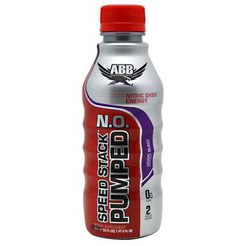ABB Speed Stack Pumped N.O. - Grape - 12 - 22 fl oz (1 pt 6 fl oz) bottles