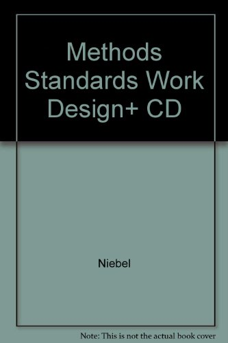 Method Standards and Work Design: Design Tools 2.0