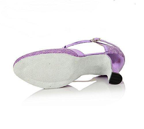 Danse Semelles Tmkoo Souples De à Talons Violet Hauts Danse contemporain Jazz En Chaussures Latine à 7OOx5rE