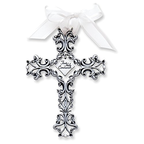 First Communion Filigree Cross (Italian Filigree)