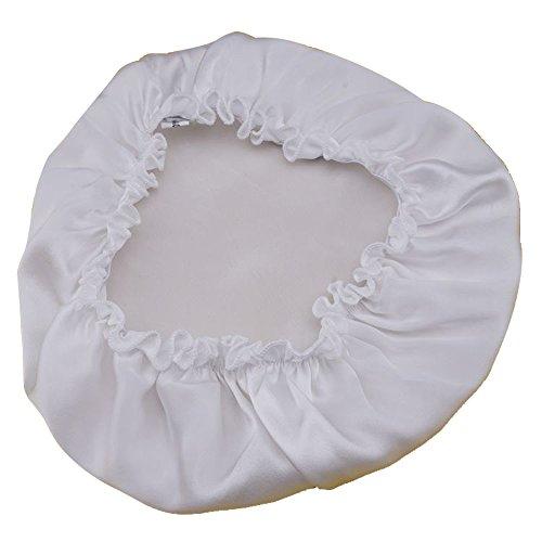 d12b6606cbb IPRO Women Natural Silk Sleep Night Cap Pure Satin Head Wrap Cover ...