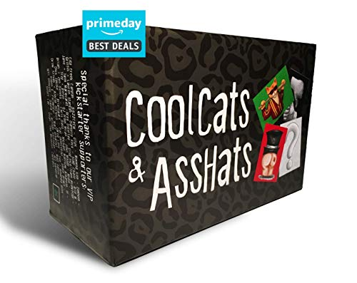 CoolCats & AssHats - Adult Drinking Card Game for Parties ()