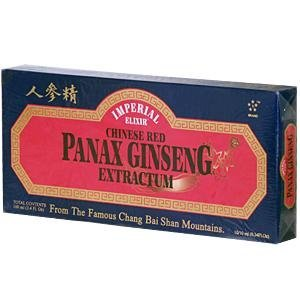 (IMPERIAL ELIXIR GINSENG Chinese Red Panax Ginseng Extractum - Vials 10 VIAL by Imperial Elixir)