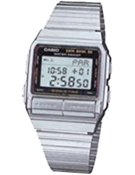 Casio Mens Digital Data Bank Stainless Watch DB520A-1