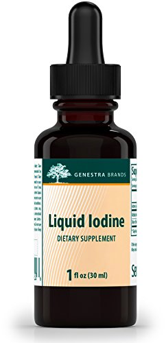 Genestra Brands - Liquid Iodine - Iodine Derived from Kelp - 1 fl. (Dietary Supplement Brands)
