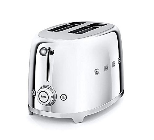Smeg-TSF01SSUS-50s-Retro-Style-Aesthetic-2-Slice-Toaster-Chrome