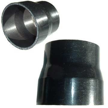 Black Silicone Reducer 2.0 to 1.0