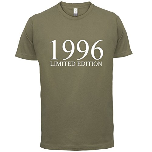 1996 Limierte Auflage / Limited Edition - 21. Geburtstag - Herren T-Shirt - Khaki - XXL