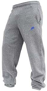 Nike Mens Grey Tracksuit bottoms Size M 063