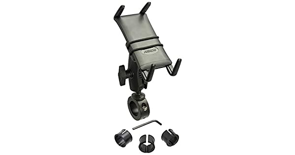 Arkon Slim Grip Ultra 25mm Robust Motorcycle Handlebar Mount for Phones and Midsize Tablets Black Retail