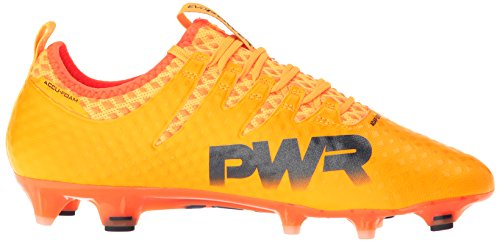 Puma Mens Evopower Vigör 1 Fg Fotboll Sko Ultra Gul-peacoat-orange Clown Fisk