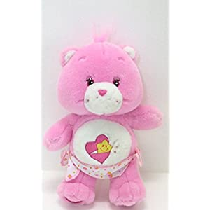 "2002 CARE BEARS BABY HUGS Plush toy/doll with diaper 11"" - 41ENLvIBcLL - 2002 CARE BEARS BABY HUGS Plush toy/doll with diaper 11″"