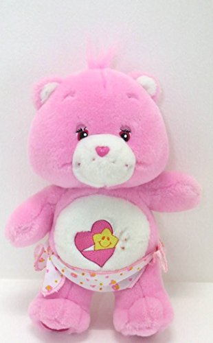 2002-CARE-BEARS-BABY-HUGS-Plush-toydoll-with-diaper-11
