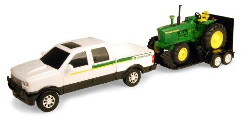 Ertl John Deere Pickup Set With 4020, 1:32 Scale