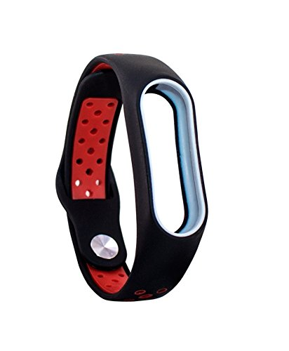 DingTool For Xiaomi Mi Band 2 Bands, Colorful Replacement Strap Wristband Bracelet Accessories for Xiaomi Mi Band 2 Smart Bracelet(Not for Xiao Mi Band 1S) (New style5-1pcs)