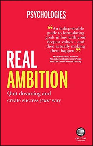 Real Ambition (Anglais) Broché – 26 août 2016 Psychologies Magazine Capstone Publishing Ltd 0857086634 Business/Economics