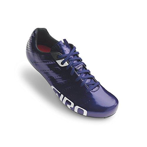 Giro Men's Empire SLX Road Bike Shoe (Ultraviolet/White, 39)