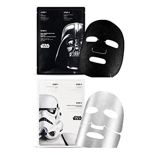 The-Face-Shop-STARWARS-Darth-Vader-Storm-Trooper-3-Step-Face-Mask-Sheet-2EA