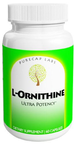 L-ornithine, 1000mg, la plus belle de PureCap!