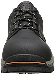 Timberland PRO Men\'s Stockdale Grip Max OX Alloy Toe Work and Hunt Boot, Black Microfiber, 7 M US