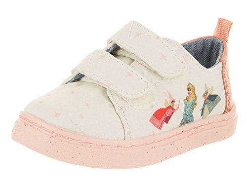 TOMS Toddlers Lenny Fairy Godmother Pink Fairy Godmother Casual Shoe 3 Infants US -
