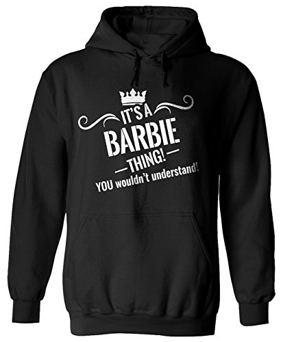 You Wouldn't Understand Adult Hoodie Med Black a3 (Barbie Vintage Sweater)