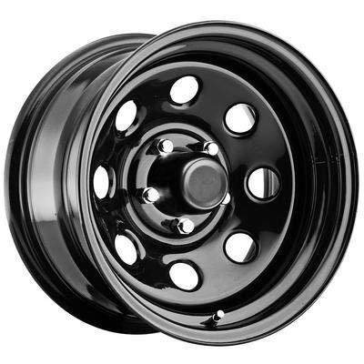5 Rims Truck Lug - Pro Comp Steel Wheels Series 97 Wheel with Gloss Black Finish (15x8