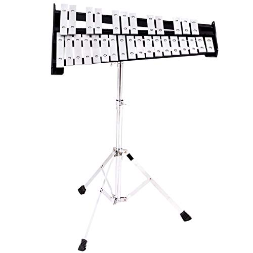 (MD Group 30 Notes Percussion Glockenspiel Bell Kit )