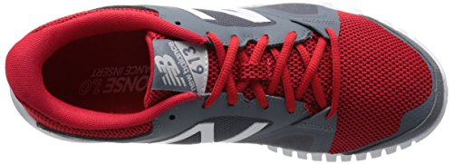 New Balance Herren 613v1 Cross Trainingsschuh Grau / Rot