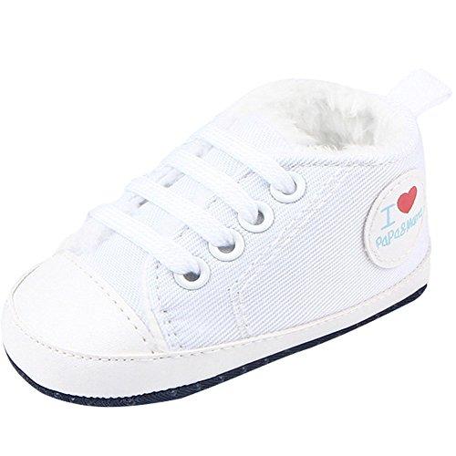 Fire Frog Baby Sport Sneakers - Zapatos primeros pasos de Lona para niño Red