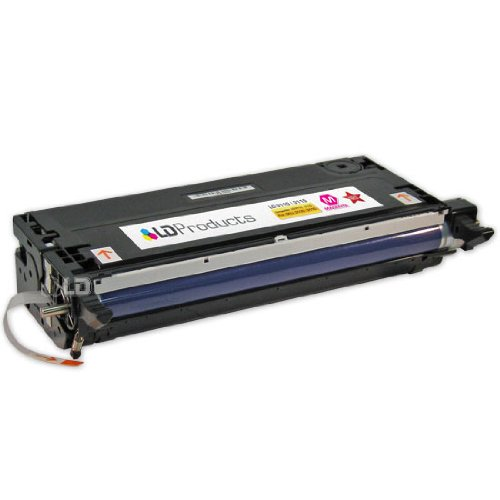 LD © Refurbished Toner to replace Dell 3110cn / 3115cn XG723 High Yield Magenta Toner Cartridge, Office Central