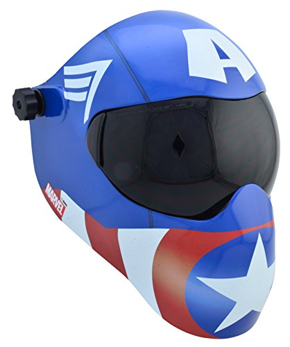 Save Phace EFP-B Series 3012657 Welding Helmet Hood - Marvel Avengers Captain -