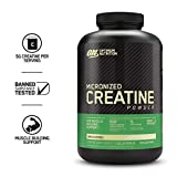 Optimum Nutrition Micronized Creatine Monohydrate Powder, Unflavored, Keto Friendly, 21.12 Ounce (Packaging May Vary)