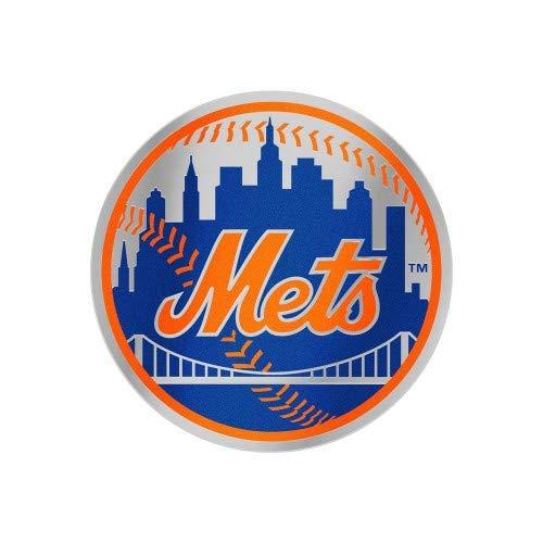 (WinCraft New York Mets Auto Badge Decal Mirror Finish Acrylic Emblem)