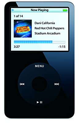 Apple 80 GB iPod AAC/MP3 Video Player 5.5 Generation from Apple Computer