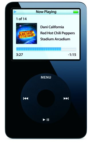 Apple 80 GB iPod AAC/MP3 Video Player 5.5 Generation (Black)  (Discontinued by Manufacturer) by Apple