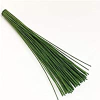 iCraft Green Floral Wire 20 Gauge Pack of 200 Wires for Floral Arrangements Flower Making and Baking Tools