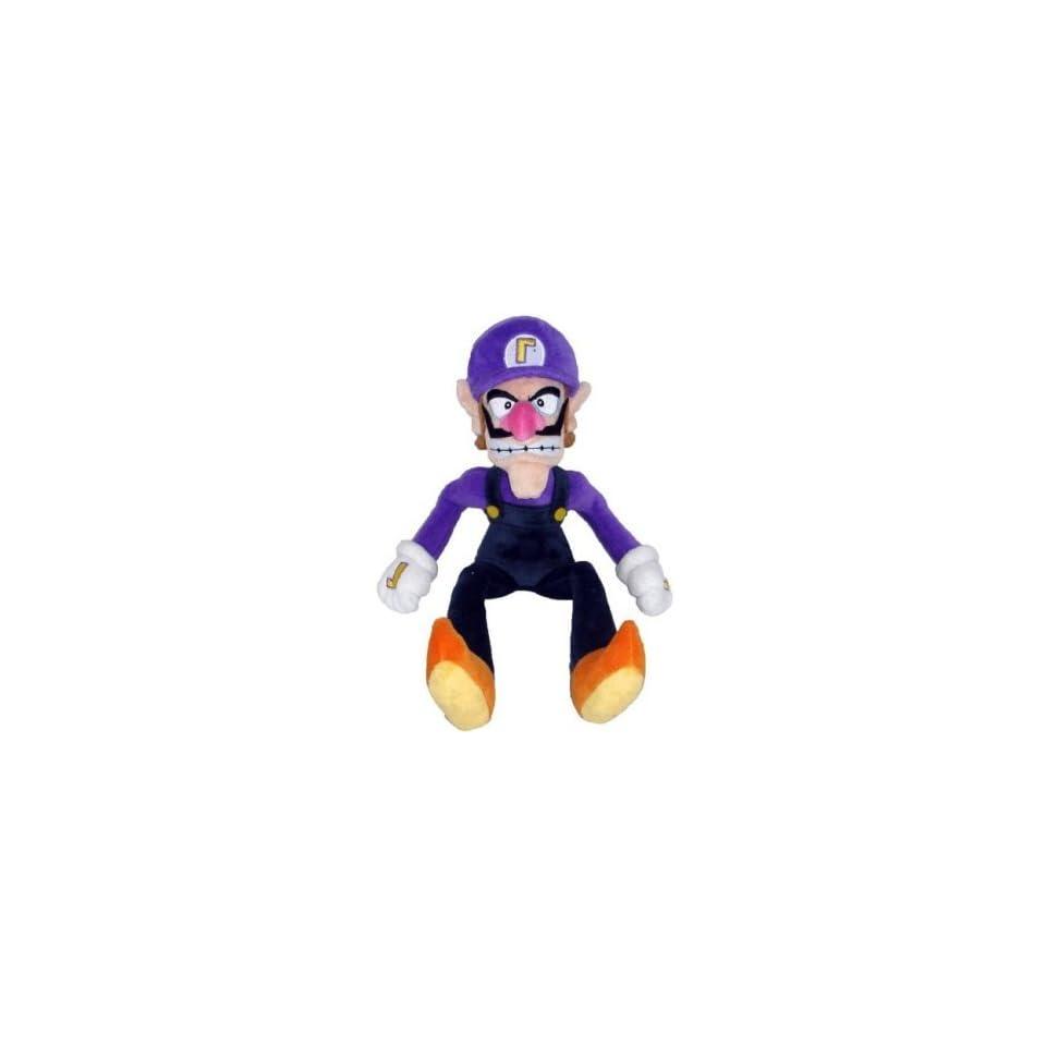 Nintendo Super Mario Bros. Waluigi Plush Toys & Games