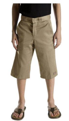 Shorts Dickies Uniform (Dickies Big Boys' Flex Waist Short With Extra Pocket, Desert Sand, 10)