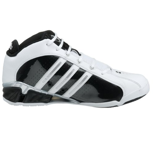 Adidas Man A3 Pro Team 2 Basket Sko Kör Vit / Blk