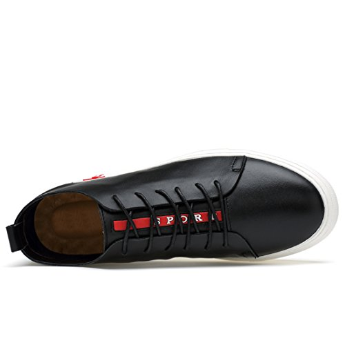 LH8A29 Sneaker Schwarz Herren LHEU Schwarz Minitoo 38 Größe Fawq5tZZI