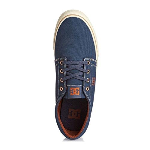 Shoes Basse TX Uomo DC Vintage Indigo Trase aPwqxOA